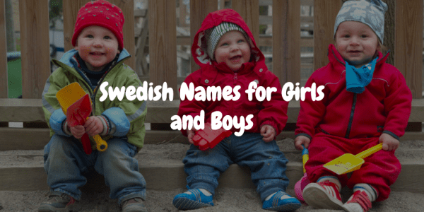 Swedish girls names and boys names