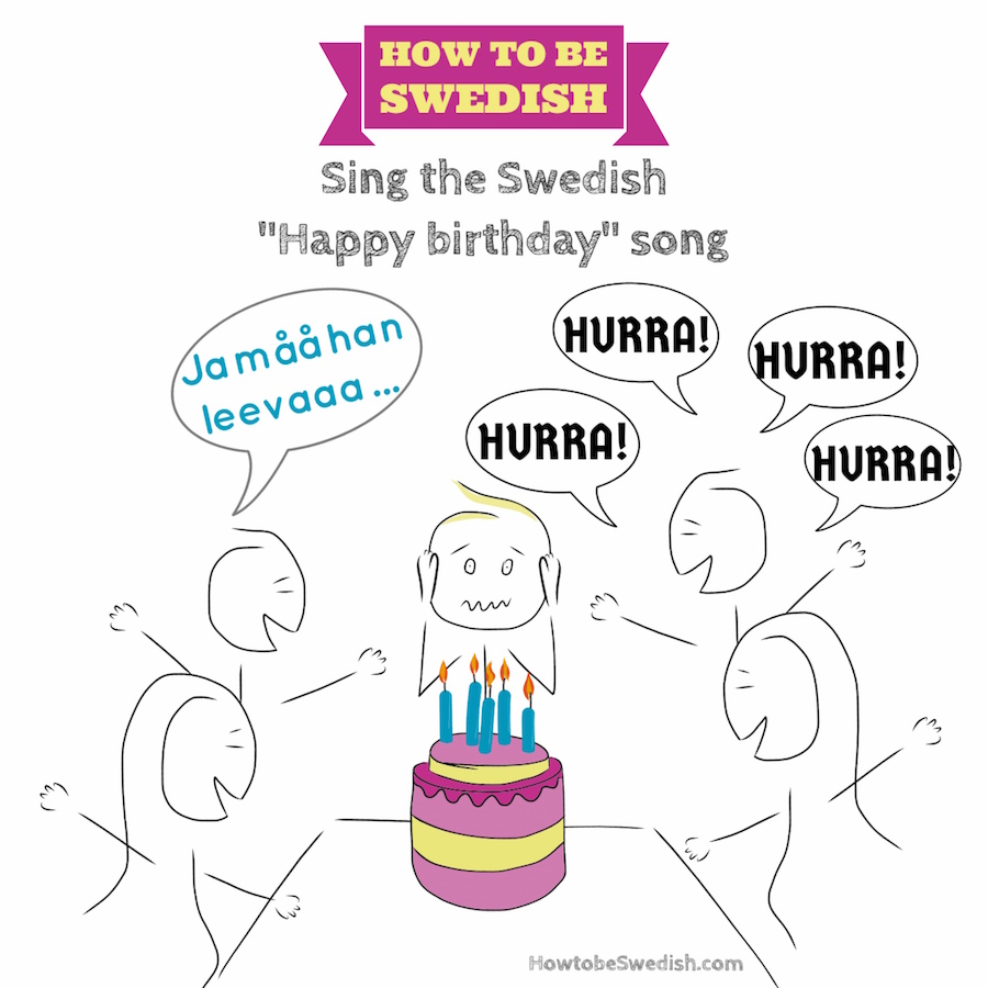 "Sing The Swedish ""Happy Birthday"" Song"