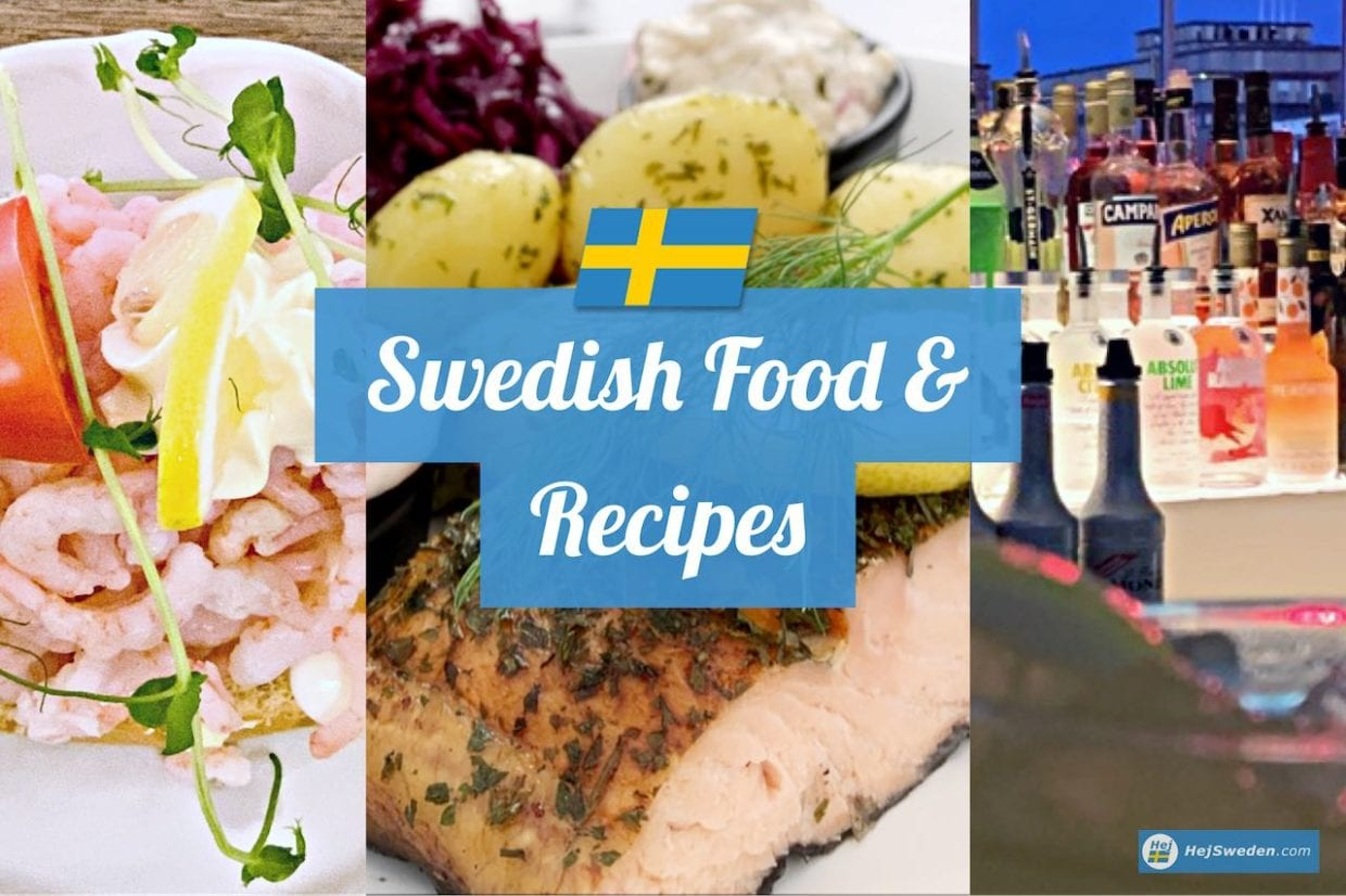 Swedish food and recipes
